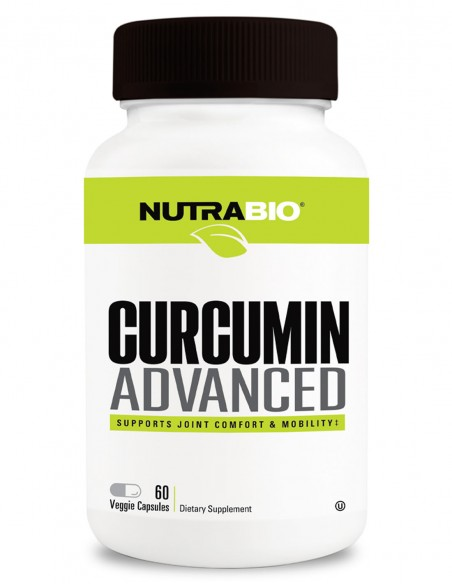 Curcumin Advanced - 60 Caps NutraBIO - 1