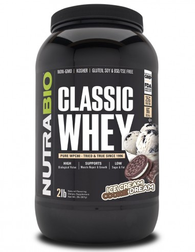 Classic Whey Protein (WPC80) NutraBIO - 3