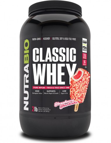 Classic Whey Protein (WPC80) NutraBIO - 7