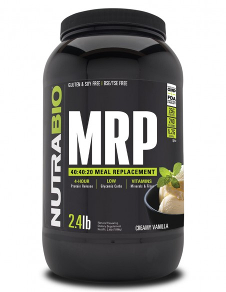 NutraBIO MRP - Meal Replacement NutraBIO - 1