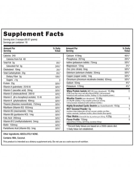 NutraBIO MRP - Meal Replacement NutraBIO - 2