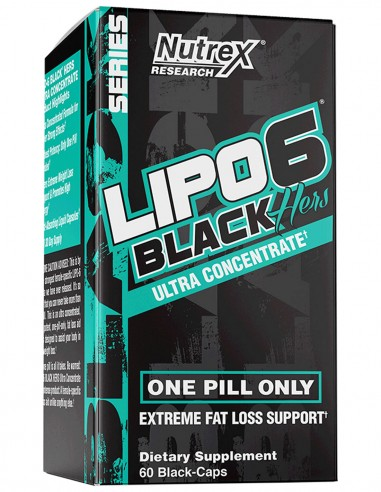 Lipo 6 Black Hers Ultra Concentrate Nutrex - 1