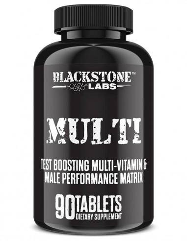 Multi Vitaminas + Testo BlackStone Labs - 1
