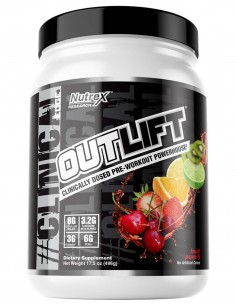 OUTLIFT Clinical Dosed, 20 Servidas Nutrex - 1