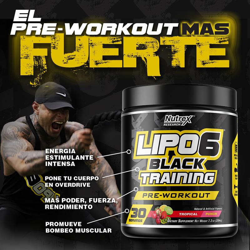Lipo 6 Black Training